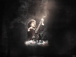 Angus Young by Crazy-Blazey