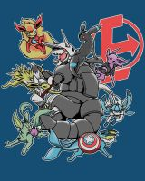 Eevengers: Age of Aggron by TheMushman