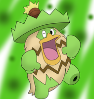 Joel the Ludicolo by DarkMetaWolf64