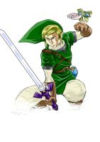 Link Skyward Sword by kyo-araya