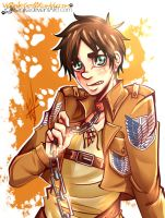 SnK: Eren the dog by Isanika