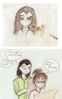 Loki is displeased...for I can not draw him. by SilenceTheBells221