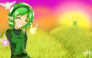 Saria Sunset by Tetra-hime