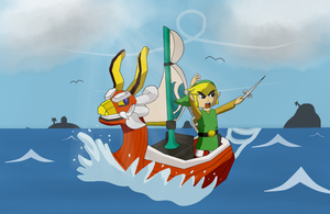 Request #03 (cardgames33) - Wind Waker Link by Antonator