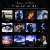 2013 Summary of Art by GSJennsen