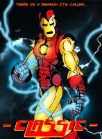 Classic Iron Man by wjh1170