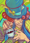 The Hatter (also known as Mad Hatter) by ymymy