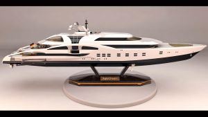 Yacht Modell Rendering Digital Dream by DonMichael71