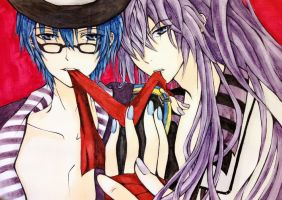 Kaito and Gakupo by Fangirl342