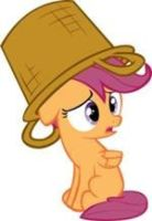 Sad Scootaloo Vector by OlderSweetieBellePls