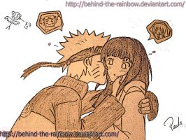 I'm lov'in it NaruHina by Behind-the-rainbow