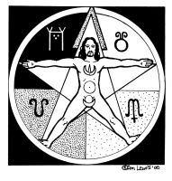 Pentagram Man by YoungWitches
