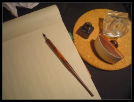 Writer's Block I by Anere