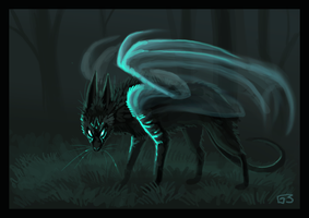 Ghost thing by griffsnuff