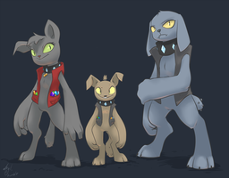 Diamond Dogs by atryl