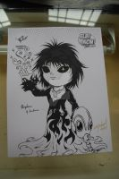 Chibi Morpheus by lady-storykeeper