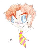 chibi Ron Weasley by rbhoofprint999
