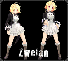 [MMD] Zwelan Model Download by AceYoen
