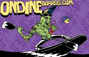 Psychobilly Zombie Surfer by HorrorRudey