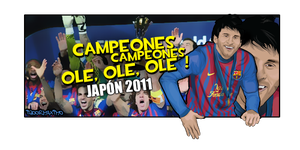 Messi - World Clubs 2011 by IGOORMAXIMO