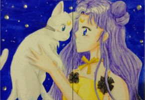 Luna and Artemis Maxi by Eiki331