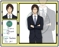 HH: English Teacher- Kazuki-sensei by tachann