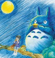 totoro by h31dy85