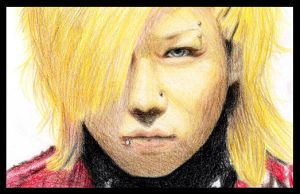 Kyo coloured by Crimefish