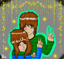 Jake and Alyssa X3 by goicesong1