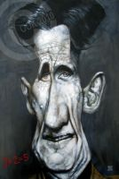 George Orwell by RussCook