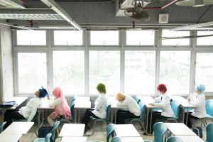 Kuroko no Basuke During Class by sharuruka