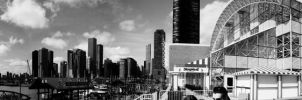 Navy Pier Panoramic by feni0x