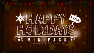 MINIPACK| HappyHolidays by SoMagicalBrightness