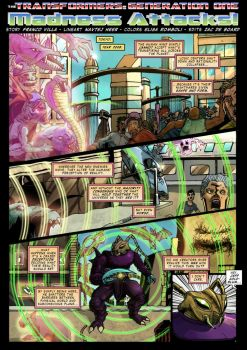 Transformers G1 Madness Attacks Page 1 collab by hellbat
