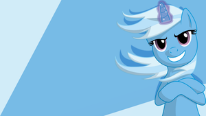 Trixie Wallpaper (Invert Background) by JeremiS