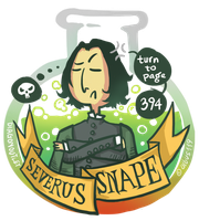 Snape by albus119