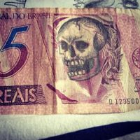 skull $$$$ by nighttattoo