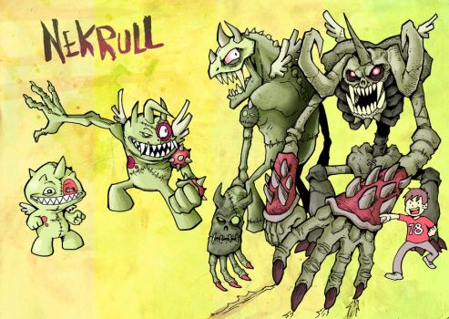 Monster Nekrull for ToonsUp by Yeocalypso