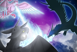 The Magic Battle by Pigeona