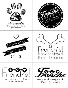 French's Pet Treats Logo Concepts by MederMade