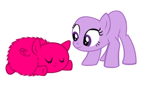 Mlp Base 17 goodnight my fluffy angel by monkeystar290