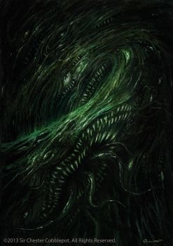 Shoggoth by Satibalzane