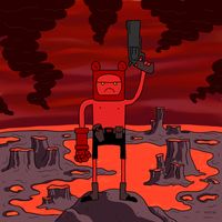 Finn The Hellboy by P3T3B3
