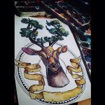 deer nature by Alexandra-Mad