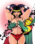 Mrs. Free, Barda if you're Nasty by BadAttitudeInk by cerebus873