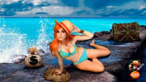 Nami Crimin Cosplay by GaiaGiselle