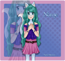 Gift: Anthro Nume by Natsu-Blossom
