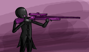 Unflinching Sniper by Greer-The-Raven