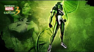 Ultimate marvel vs capcom 3 She-Hulk by KaboXx