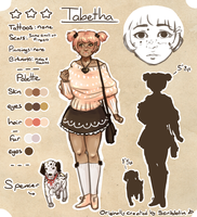 Girlfriend - Tabetha .Adoptable. [closed] by scribblin